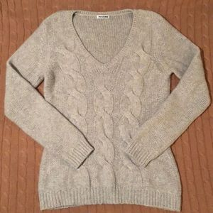 Sweaters - Cashmere cable knit sweater